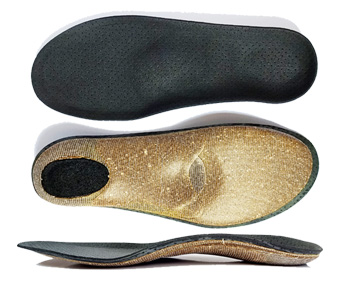 Custom insoles for shoes