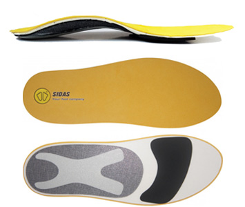 Custom cycling insoles