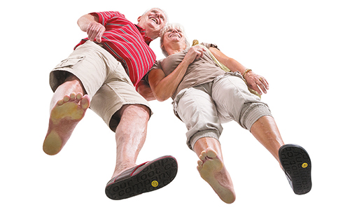 Ageing and foot pain