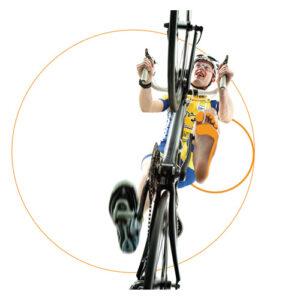 Custom cycling or biking insoles